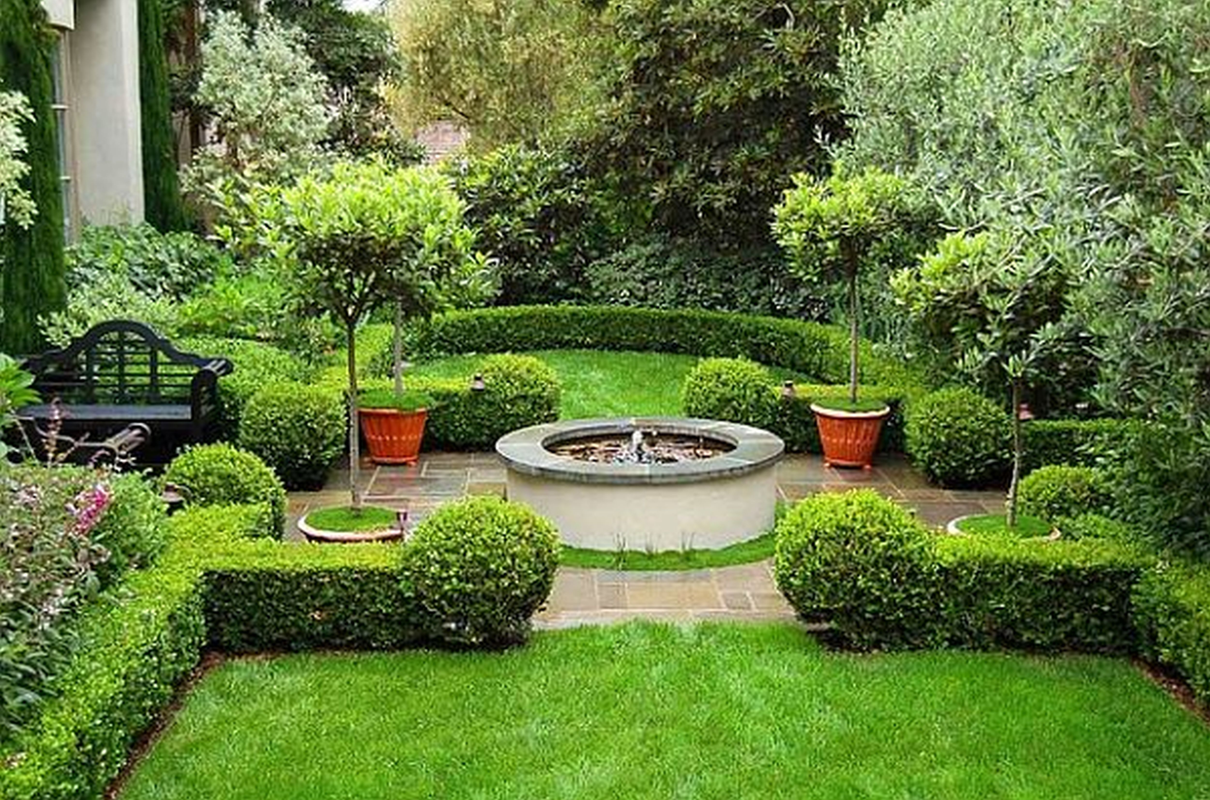 Planning landscaping organic garden landscaping - Design for backyard landscaping ...